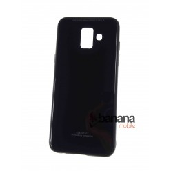 Гръб за Samsung Galaxy A6 2018 Glass Case Black