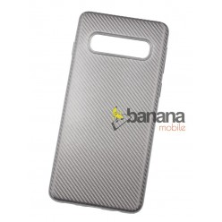 Кейс за Samsung Galaxy S10 Carbon Silver