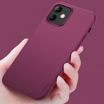 Кейс за iPhone 12 Mini X-Level Guardian Wine red