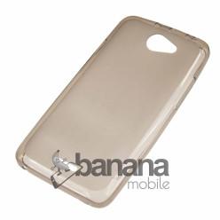 Прозрачен силиконов  цветен гръб/калъф/протектор/кейс за HTC Desire 516