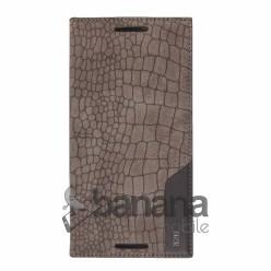 Цветен кожен калъф тип тефтер змийска кож за HTC Desire 820