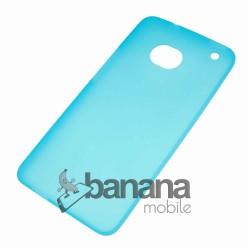 """Цветен супер тънък силиконов калъф/гръб/кейс """"Spada""""  за HTC One M7"""