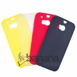 """Син супер тънък силиконов калъф/гръб/кейс """"Spada"""" за HTC One M8"""