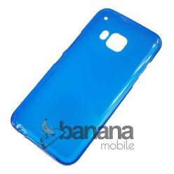 Цветен прозрачен силиконов гръб/калъф/протектор/кейс за HTC one M9