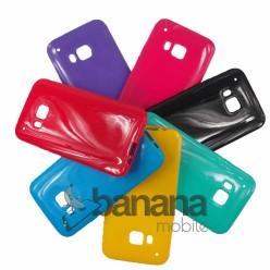 Цветен силиконов гръб/калъф/протектор/кейс за HTC one M9