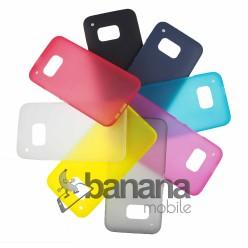 """Цветен супер тънък силиконов калъф/гръб/кейс """"Spada"""" за HTC one M9"""