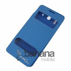 Цветен калъф тип тефтер с активен капакза Huawei Ascend G510