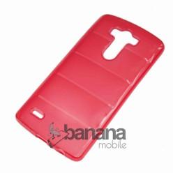 Едноцветен прозрачен силиконов гръб/калъф/протектор/кейс за LG G3