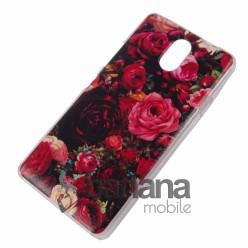Пластмасов гръб/калъф/протектор/кейс с картинка червени Рози за Lenovo Vibe P1m