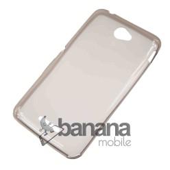 Прозрачен силиконов гръб/калъф/протектор/кейс за Sony Xperia E4