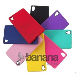 Цветен силиконов гръб/калъф/протектор/кейс за Sony Xperia Z4