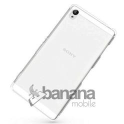 Трансперантен супер тънък силиконов гръб / калъф / протектор / кейс за Sony Xperia Z4