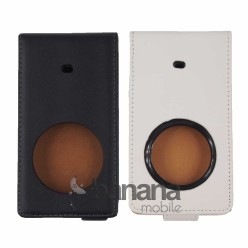 Nokia Lumia 1020 Цветен кожен калъф тип тефтер с активен капак
