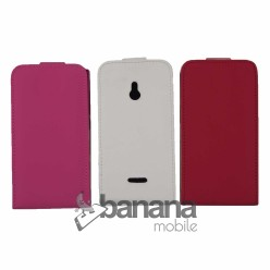 Nokia XL Цветен кожен калъф тип флип