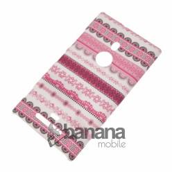 Nokia Lumia 925 Пластмасов гръб/калъф/протектор/кейс с картинка на цветни раета