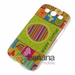 Великденски пластмасов кейс за Samsung Galaxy S3