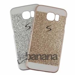 Брокатен пластмасов калъф за Samsung Galaxy S6