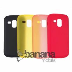Цветен силиконов кейс Spada за Samsung Galaxy Trend