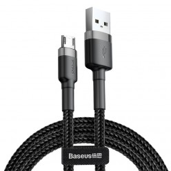 Baseus Micro Кабел за бързо зареждане /Cafule Cable 2.4A / Gray and Black