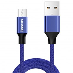 Baseus Micro Кабел за бързо зареждане /Yiven Cable 2A/ Blue