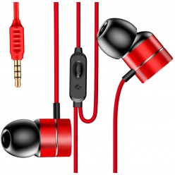 Слушалки Baseus Encok Wire Red