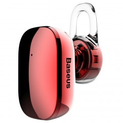 Mini Wireless / Bluetooth Слушалкa Baseus Red