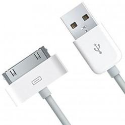 USB Кабел за зареждане и пренос на данни /синхронизация/ за iPhone 4/4S