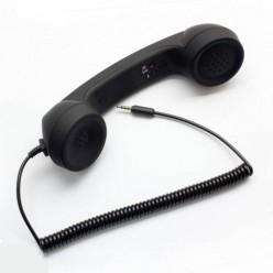 Цветна ретро слушалка за мобилен телефон/таблет/компютър